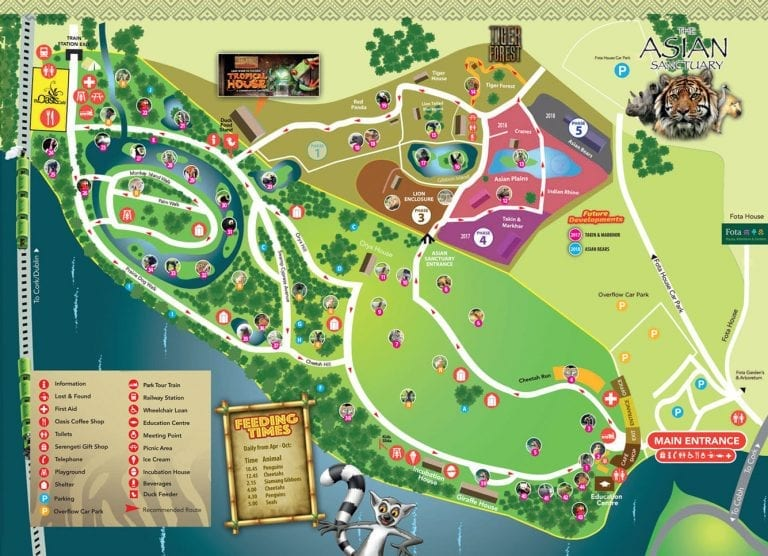 www.ringofcork.ie | Ring of Cork | Fota Wildlife Park