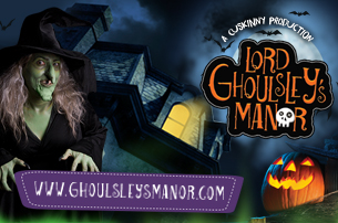 2015 Halloween fun at Cuskinny Court - Lord Ghoulsley's Manor - Ring of Cork