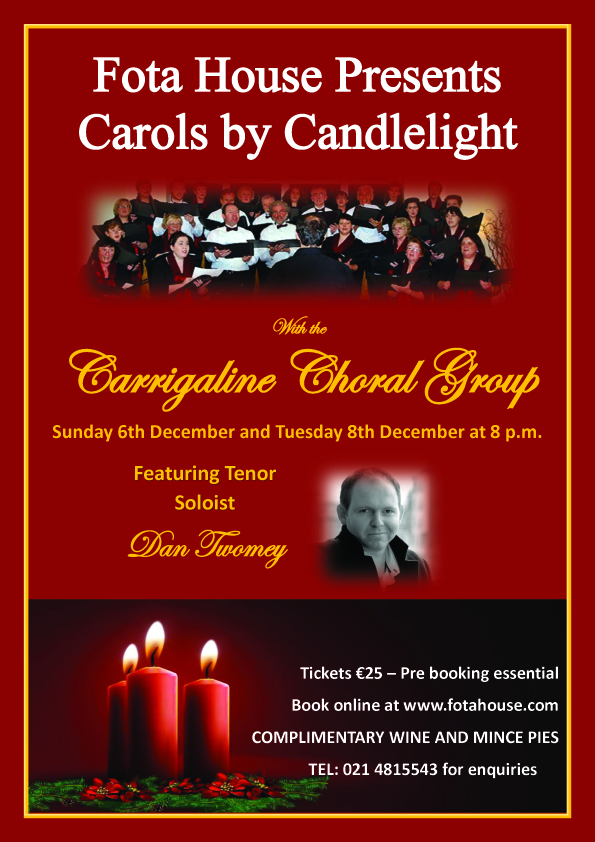 Carols by Candlelight with The Carrigaline Choral Group - Ring of Cork
