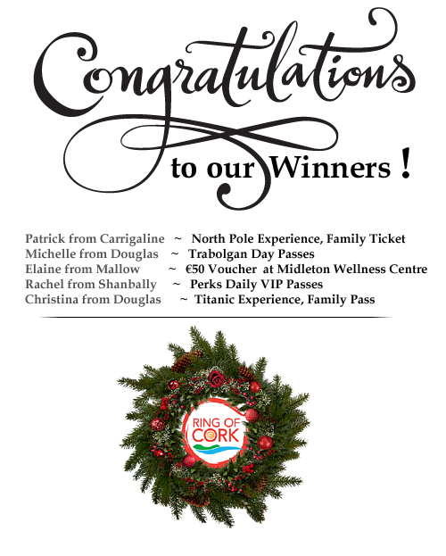 Christmas Newsletters & Christmas Shopping Competition WINNERS
