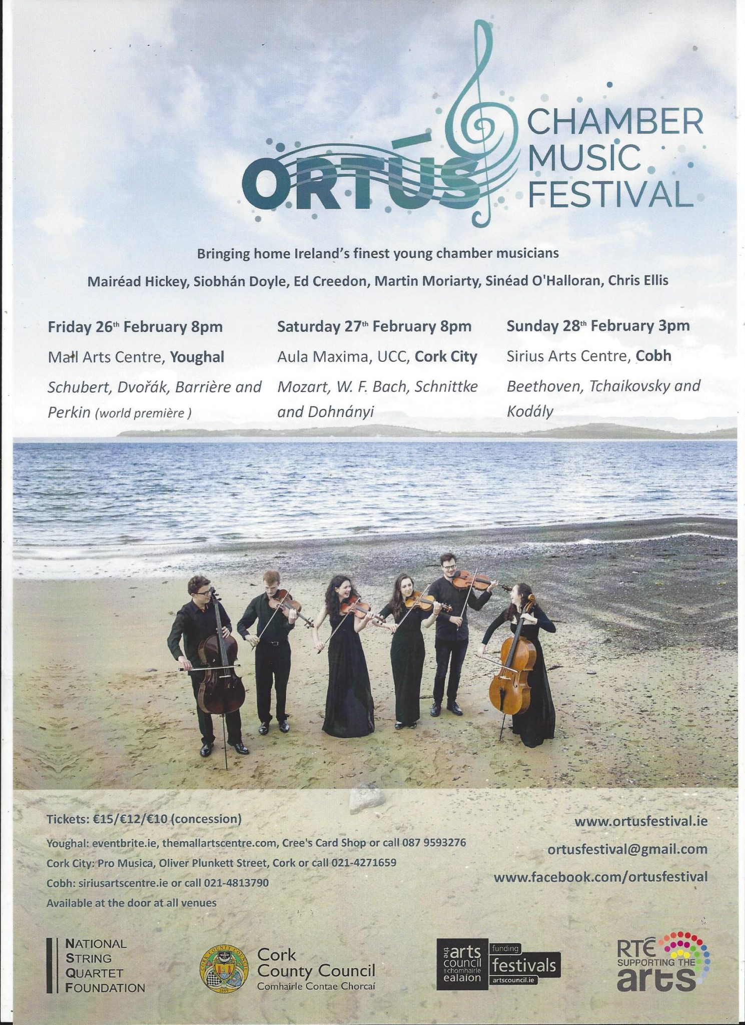 Ortús Chamber Music Festival - Ring of Cork