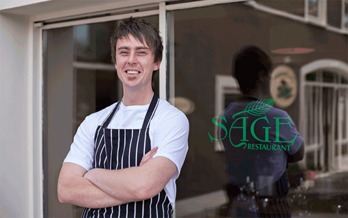 Sage Restaurant wins Failte Ireland food champion award