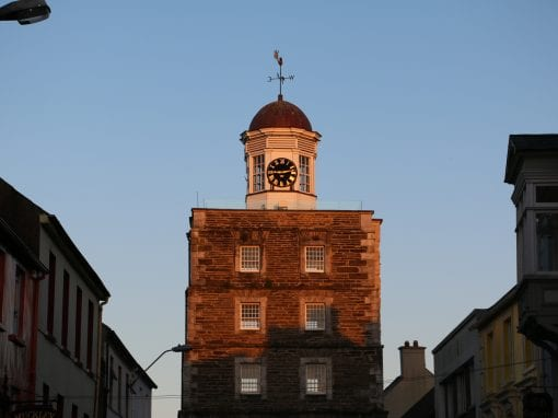 Youghal Clock Gate Tower - Ring of Cork