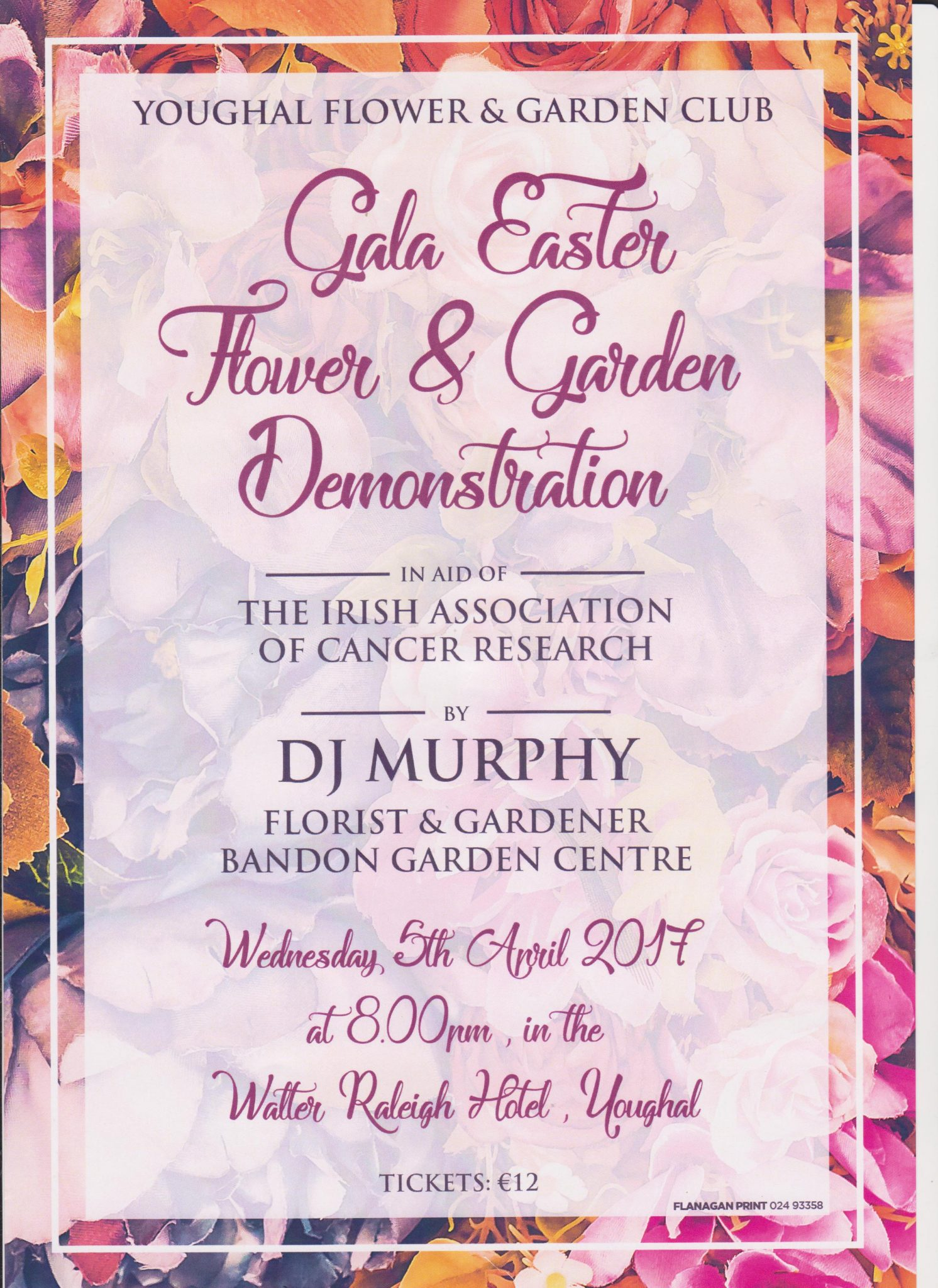 Gala Easter Flower & Garden Demonstration hosted by Youghal Flower & Garden Club - Ring of Cork
