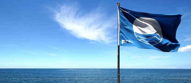 Redbarn Beach, Youghal, Flies the Blue Flag for East Cork