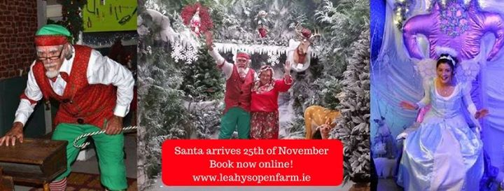 Santa at Leahy's Open Farm - Ring of Cork