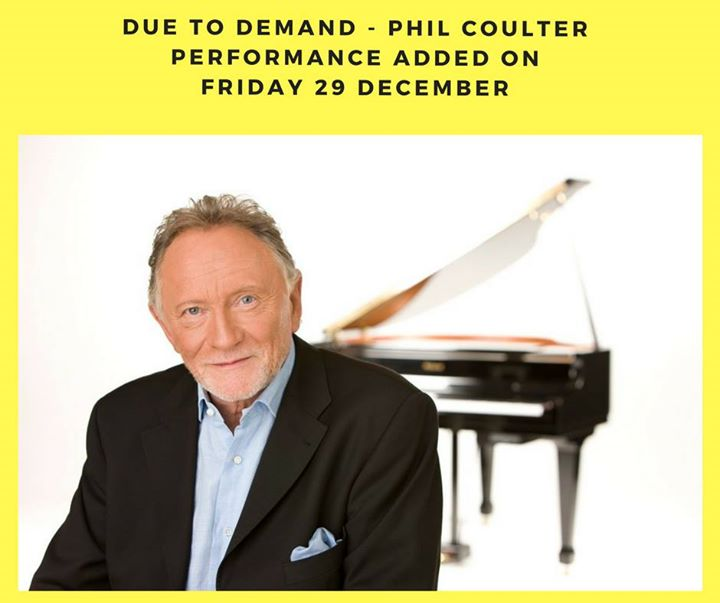 Phil Coulter - 2nd show added to meet demand - Ring of Cork
