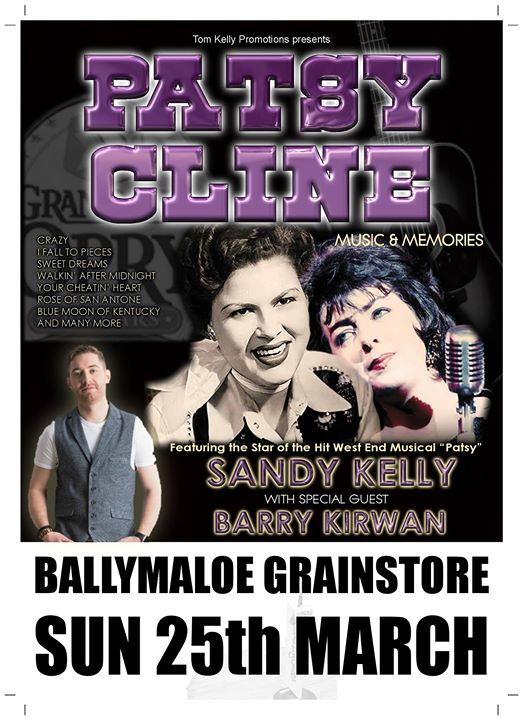 Patsy Cline: Music & Memories with Sandy Kelly - Ring of Cork