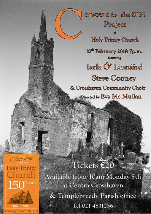 150th Celebration Year Concert in aid of the SOS Project - Ring of Cork