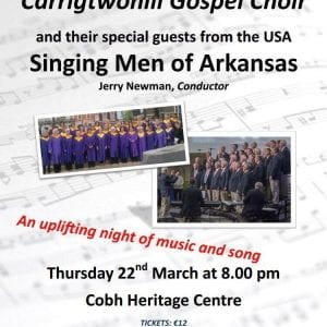 www.ringofcork.ie | RIng of Cork | Singing Men of Arkansas