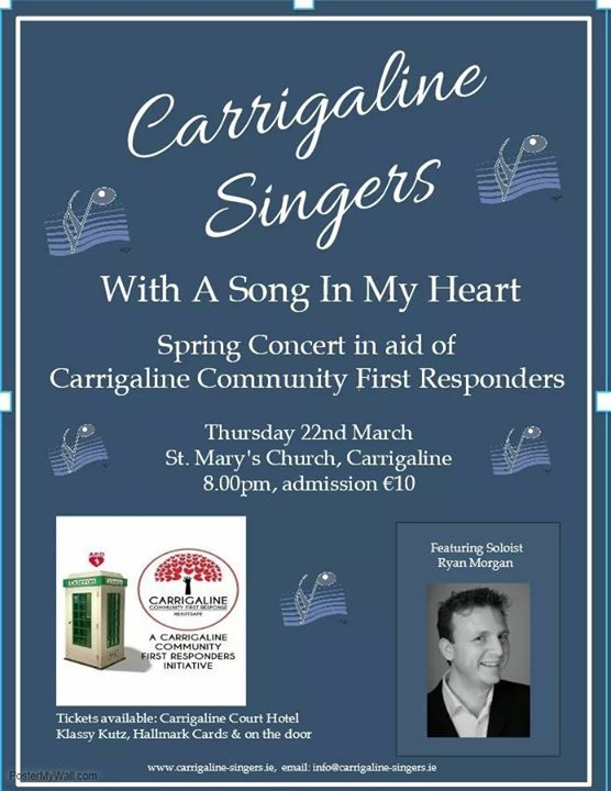 "Carrigaline Singers Present ""With a Song in my Heart"" - Ring of Cork"