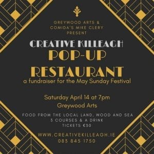 www.ringofcork.ie | Ring of Cork | Creative Killeagh Pop Up Restaurant