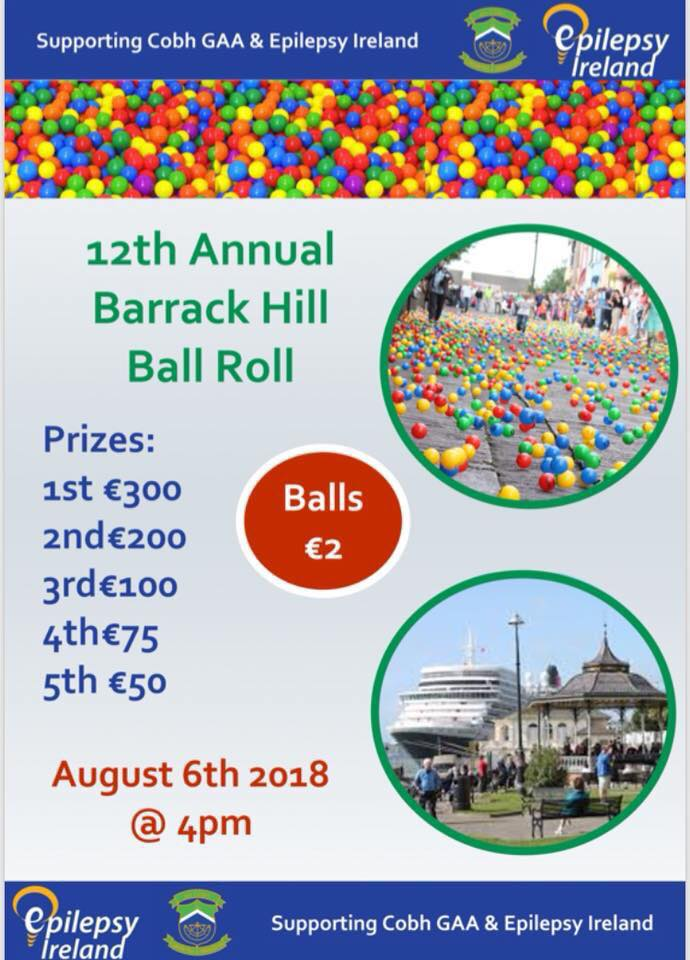 12th Annual Barrack Hill Ball Roll - Ring of Cork