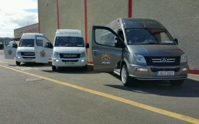 Mackey Coaches add THREE new minibuses to their fleet!
