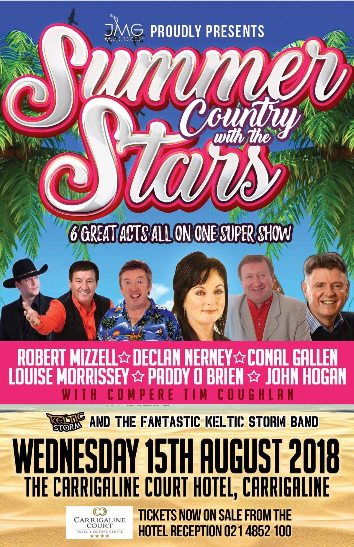 summer country with the stars