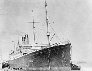 The Wreck of RMS Celtic - Ring of Cork