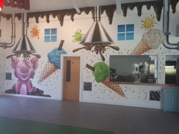 Ice-Cream & Chocolate Factory at Leahys Open Farm