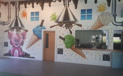 Ice-Cream and Chocolate Factory at Leahys Open Farm