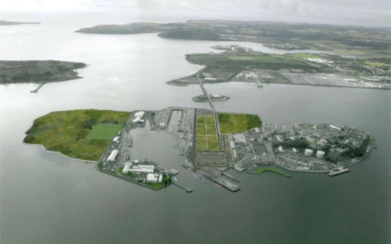 Haulbowline Island Park set to open in May 2019