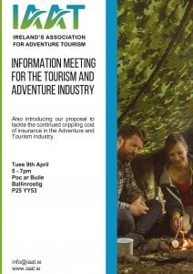 Information Meeting for the Tourism and Adventure Industry - Ring of Cork