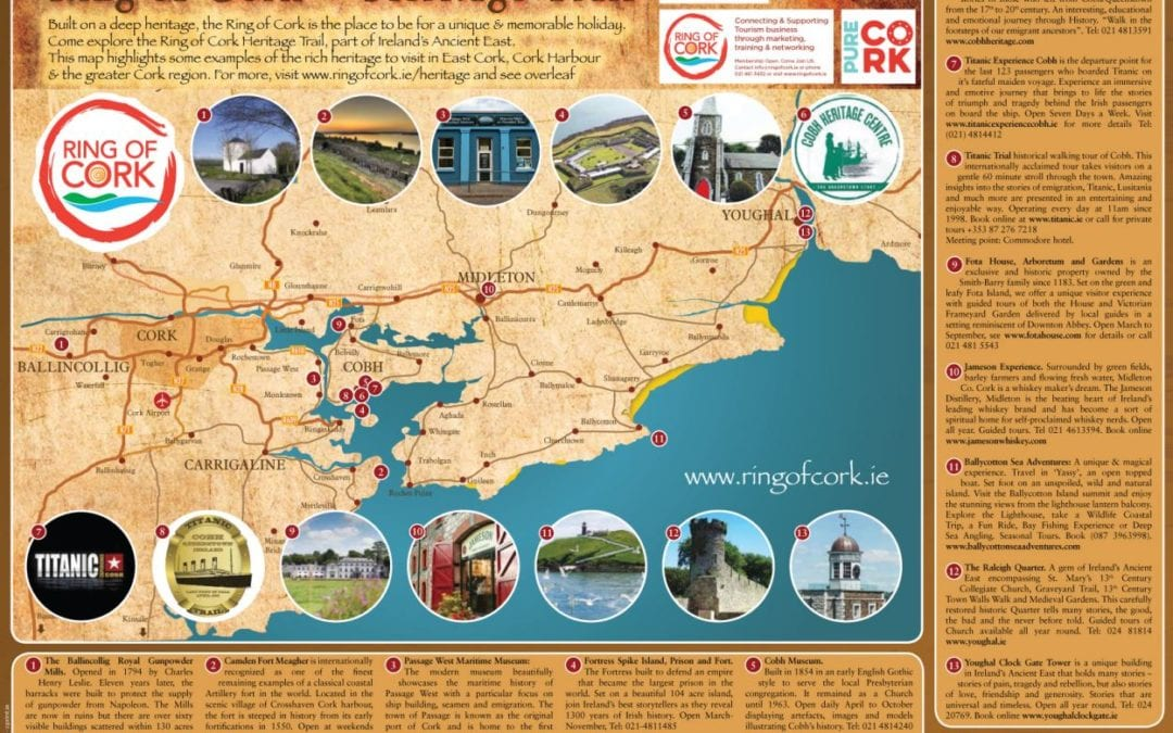 New Ring of Cork Heritage Trail Map