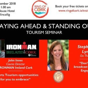 Staying Ahead & Standing Out Tourism Seminar - Ring of Cork