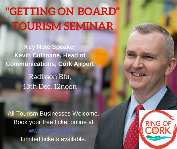 Getting on Board Tourism Seminar - Ring of Cork