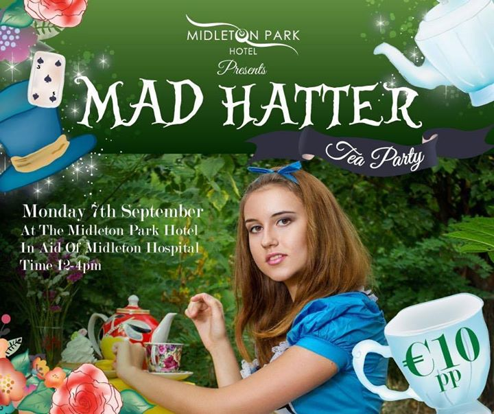 Mad Hatter -Tea Party - Ring of Cork