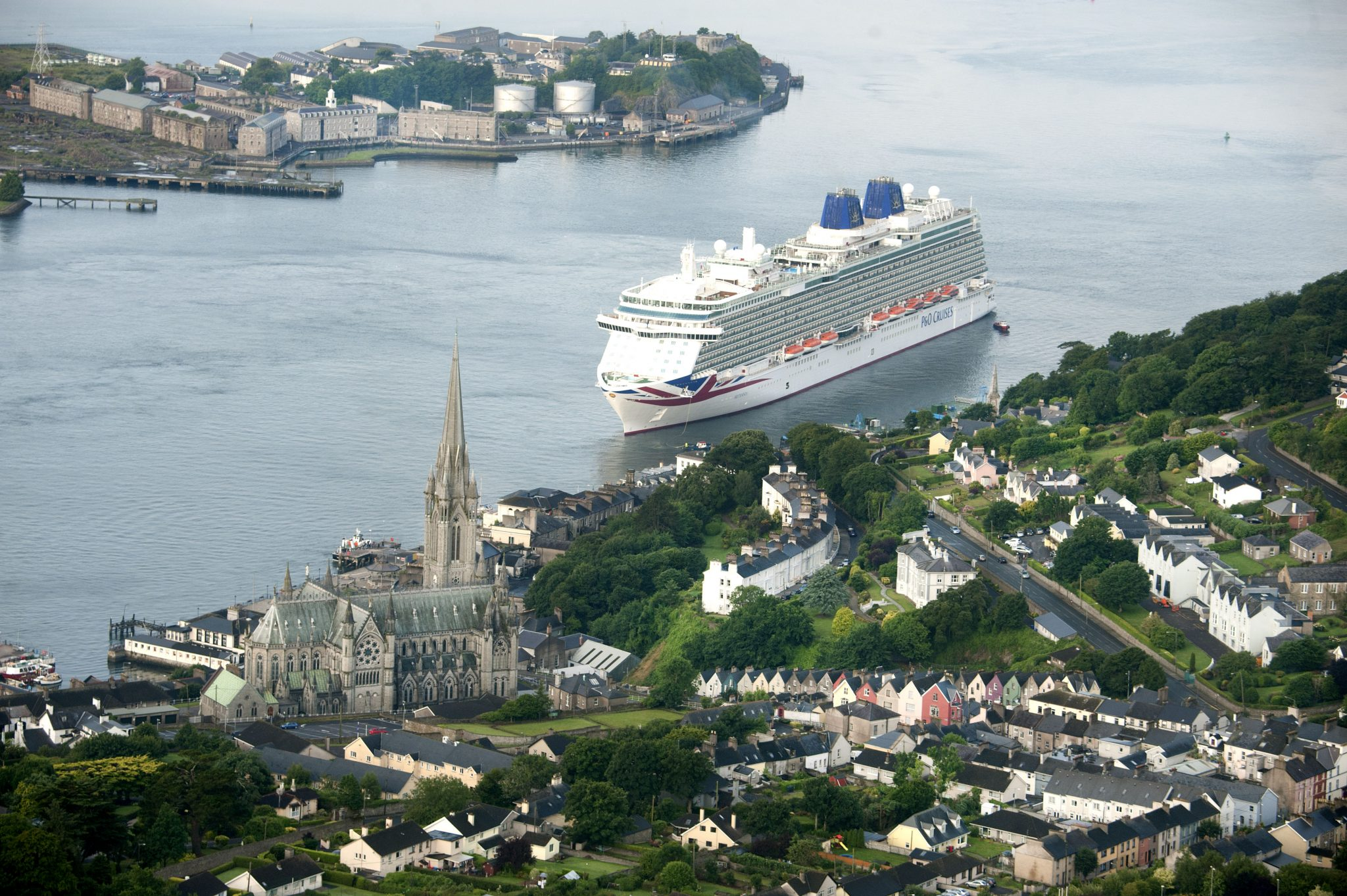 Brilliance Of The Seas Cruise Ship Arrives in Cobh - Ring of Cork