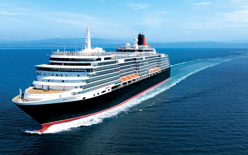 Queen Victoria Cruise Ships Arrives at Cobh Cruise Terminal - Ring of Cork
