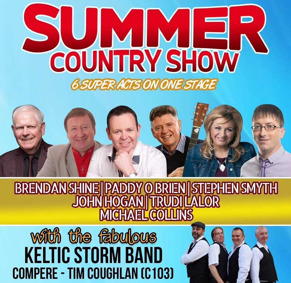 Summer With The Country Stars at Carrigaline Court Hotel - Ring of Cork