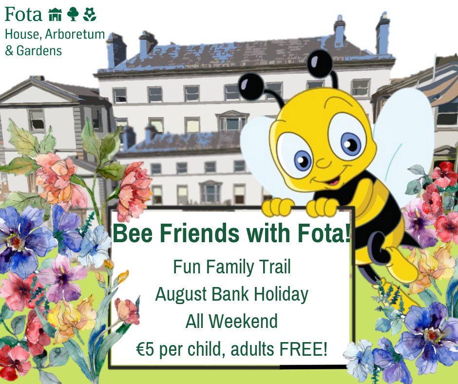 Bee Friends with Fota at Fota House, Arboretum and Gardens - Ring of Cork