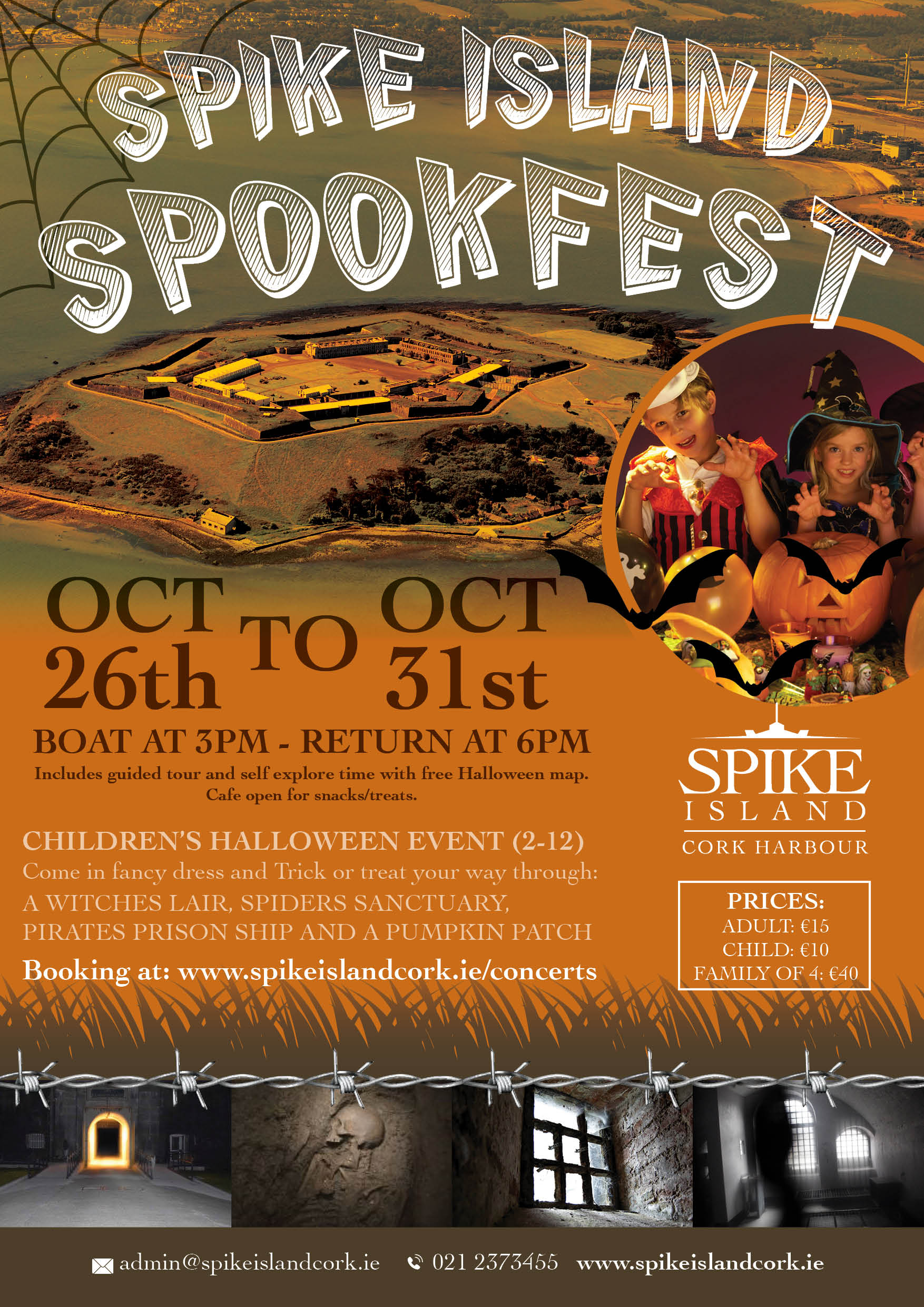 Spike Island Spookfest - Ring of Cork