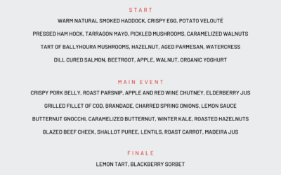 An Early Bird Menu To Whet The Appetite at Pier 26