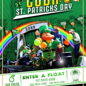 2020 Cobh St Patrick's Day | www.ringofcork.ie | Ring of Cork
